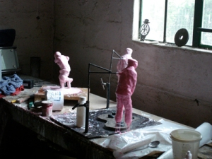 Pink Zombies in Lilliput