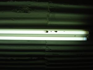 Pottery by fluorescent light