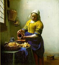 Vermeer's Milkmaid