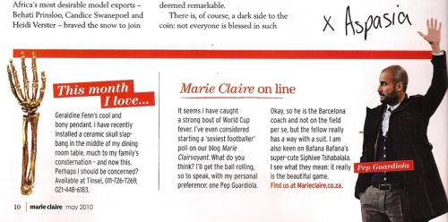 Marie Claire May 2010
